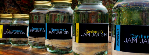 Yup, you guessed right - bottled in Jam Jars!