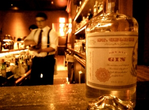 St George, Dry Rye Gin from California